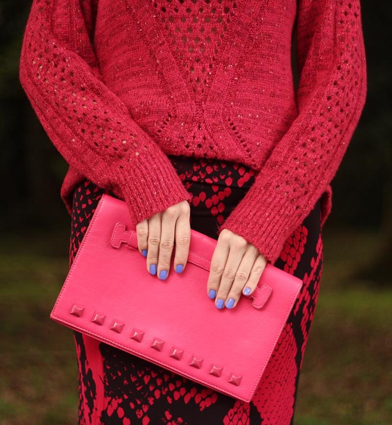 blog-vanduarte-look-do-dia-long-skirt-tricot-monocromatico-todo-rosa-8