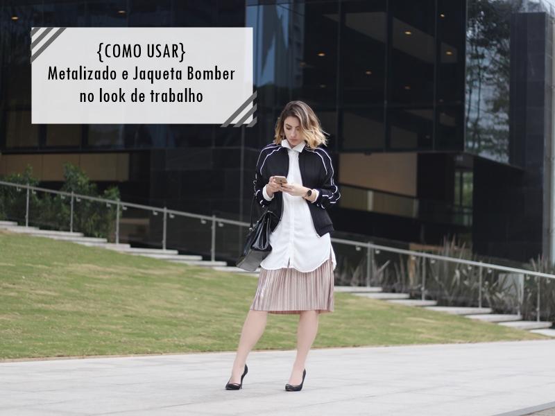 look-de-trabalho-saia-plissada-metalizada-jaqueta-bomber-workwear-blog-vanduarte-1