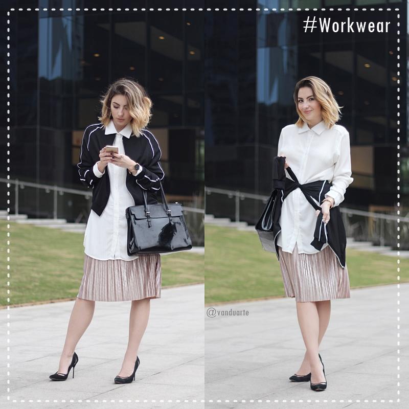 look-de-trabalho-saia-plissada-metalizada-jaqueta-bomber-workwear-blog-vanduarte-10