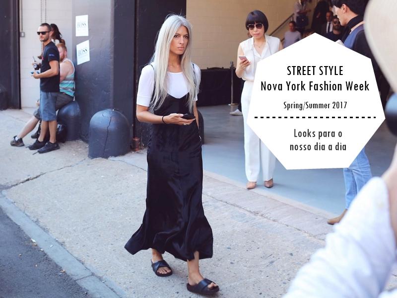 Street Style Nyfw Ideias De Looks E Onde Comprar